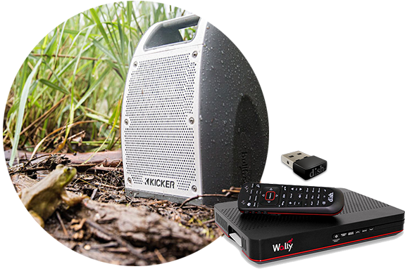 KICKER Bullfrog Speaker