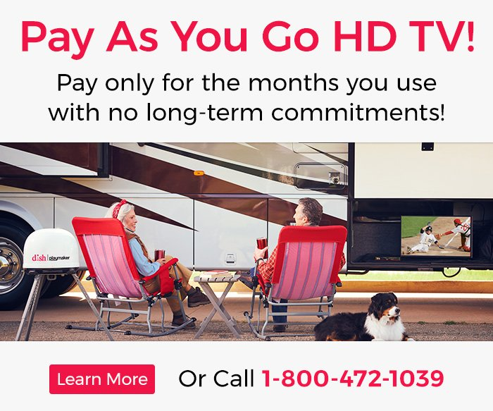 DISHForMyRV: DISH Mobile Satellite Systems & Pay As You Go