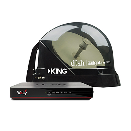 KING Satellite Antenna For RVs and Tailgating