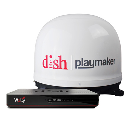 DISH Playmaker Satellite Antenna Bundle with Wally